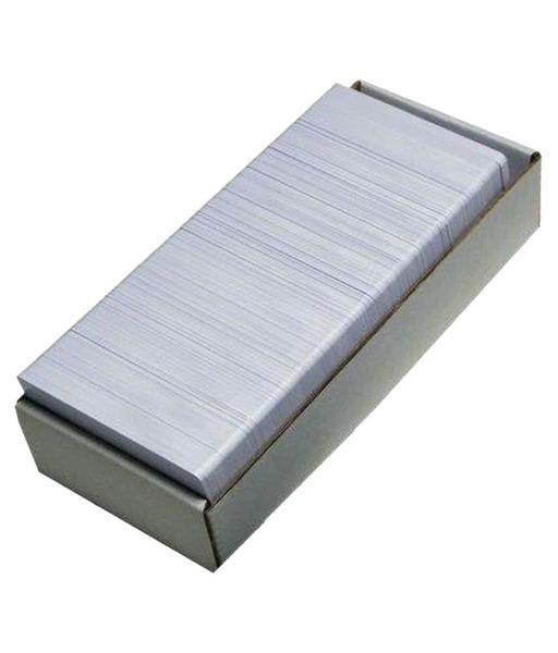 Dubaria Plain White PVC ID Cards For Epson L800, L805, L810, L850, R280, R290, T50, T60, P50, P60 InkJet Printers - Set of 230 Cards