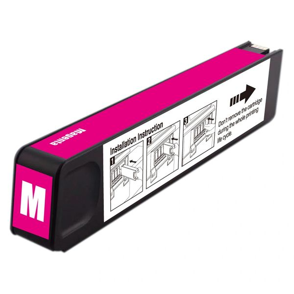 Dubaria 971 XL Magenta Ink Cartridge For HP 971XL Magenta Ink Cartridge For Use In OfficeJet Pro X476dn MFP, X476dw MFP, X576dn MFP, X576dw MFP, X451dn, X451dw, X551dw Printers