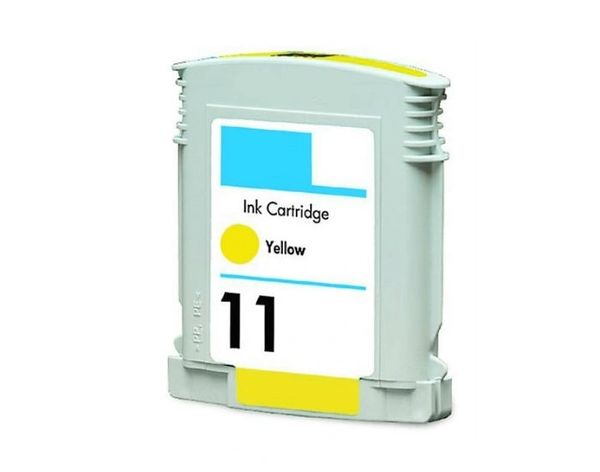 Dubaria 11 Yellow Ink Cartridge For HP 11 Yellow Ink Cartridge
