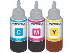Dubaria Refill Ink For Use In Canon 2700B Ink Cartridge Used With Canon Maxify IB 4080, IB 4070, IB 4170, MB 5070, MB 5080, MB 5370, MB 5470, MB 4075, MB 5170 Printers - 1 Liter Each - Cyan, Magenta & Yellow