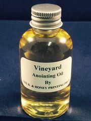 Elder's Anointing Oil: Vineyard Scented