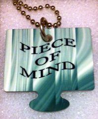 Piece of Mind Male Puzzle Piece, God Tag