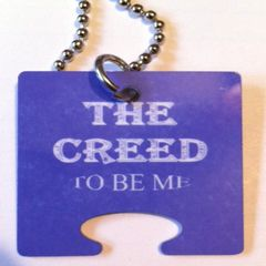 The Creed: Female Puzzle Piece, God Tags