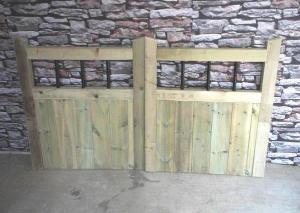 Metal Slatted Driveway Gates 4ft Pair Buying Total Width