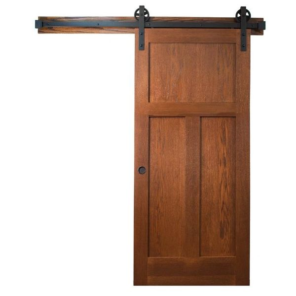 Wagon Wheel Rolling Barn Door Hardware Kit The Home Centre At