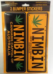 Nimbin Sticker - Set of 2