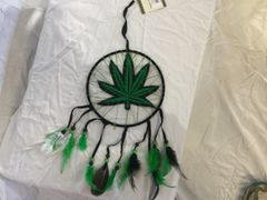 Dream catcher - Marijuana Leaf
