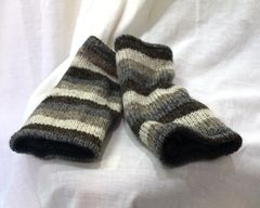Arm Warmers - Black, White & Grey