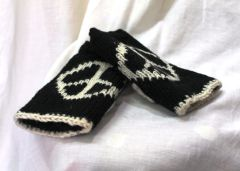 Arm Warmers - Peace Sign