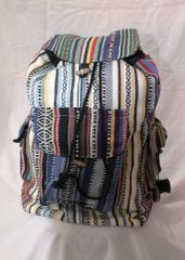 Backpack - Cotton Stripe