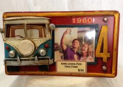 Kombi License Photo Frame