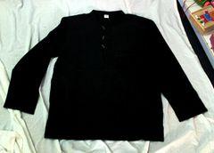 Men's Cotton Shirt - Black