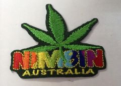 Nimbin Cloth Patch - Marijuana Leaf