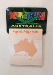 Nimbin Magnet Notepad