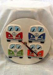 Kombi Ceramic Clock