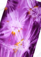 Sarong - Tie Dyed Purple