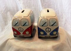 Kombi Money Box - Red or Blue