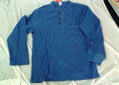 Men's Cotton Shirt - Blue