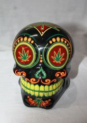 Money Box - Skull Candy Rasta