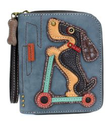 Chala Zip Around Wallet