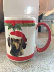 Christmas Doxie Mug