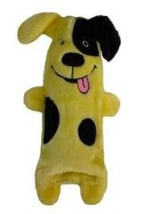 Crinkle Dog Water Bottle Plush Toy