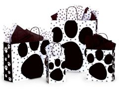 Paw Print Gift Bags