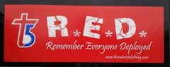 T5 R.E.D. Bumper Sticker
