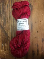 Wonderland Yarns Chunky- Off With Her Red