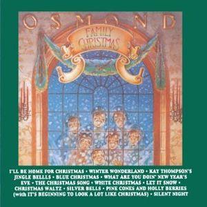osmond family christmas cd - Blue Christmas Song