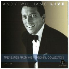 Andy Williams LIVE Treasures from his Personal Collection 2-CD set