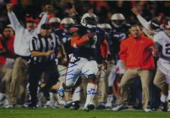 Chris Davis Signed Autographed Auto Auburn Tigers 2013 Iron Bowl 16x20 Photo w/Got a Sec - Proof