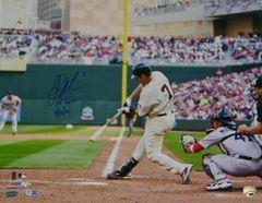 Joe Mauer Signed Autographed Auto 16x20 Photo w/1st Game 4/12/10 - MLB Authentic