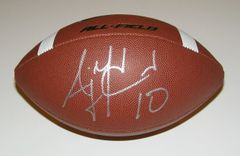 A. J. McCarron Signed Autographed Auto Nike All Field Football - UA Alabama Crimson Tide
