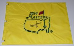 Mark O'Meara Signed Autographed Auto Masters Pin Flag w/98 - Augusta National