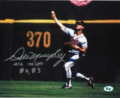 Dale Murphy Signed Autographed Auto Atlanta Braves 16x20 Photo w/NL MVP 82, 83