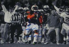 Chris Davis Signed Autographed Auto Auburn Tigers 2013 Iron Bowl 11x14 Spotlight Photo w/Got a Sec - Proof