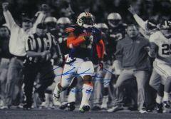 Chris Davis Signed Autographed Auto Auburn Tigers 2013 Iron Bowl 16x20 Spotlight Photo w/Kick 6 - Proof