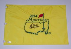 Ben Crenshaw Signed Autographed Auto Masters Pin Flag w/1984 & 1995 - Augusta National - JSA