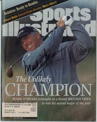 Mark O'Meara Signed Autographed Auto 1998 British Open SI Sports Illustrated