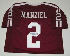 Johnny Manziel Signed Autographed Auto Texas A&M Aggies Football Jersey - JSA Witness