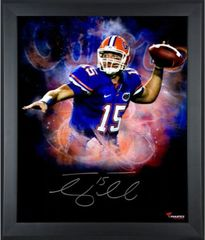 Tim Tebow Signed Autographed Auto Framed 16x20 Photo - Fanatics