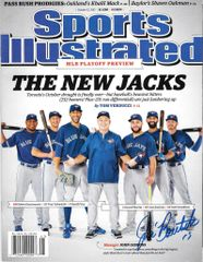 Jose Bautista Signed Autographed Auto Toronto Blue Jays Sports Illustrated - Proof - 100% Proceeds to Charity