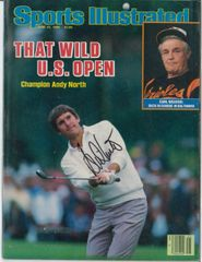 Andy North Signed Autographed Auto 1985 U. S. Open SI Sports Illustrated - NO LABEL