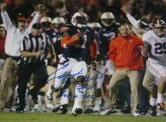 Chris Davis Signed Autographed Auto Auburn Tigers 2013 Iron Bowl 11x14 Photo w/Got a Sec - Proof