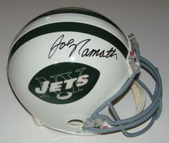Joe Namath Signed Autographed Auto New York Jets Full Size Authentic Helmet - PSA Full Letter