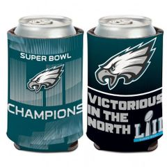 Philadelphia Eagles Super Bowl 52 Can Cooler Koozie