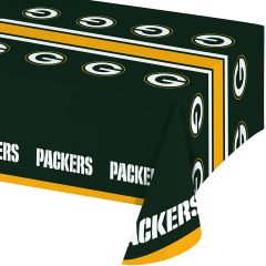 Green Bay Packers Tablecloth Table Cover By Creative Converting