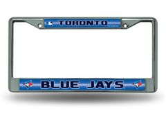 Toronto Blue Jays Chrome Bling License Plate Frame MLB Licensed