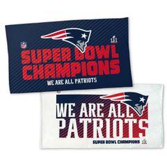 New England Patriots Super Bowl LI Champions Locker Room Towel NFL Licensed